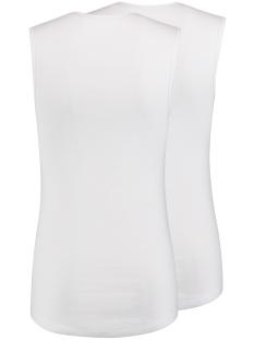 assen sleeveless 2pack rj bodywear t-shirt wit