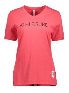 Zoso T-shirt SARA T-SHIRT RED/NEVY