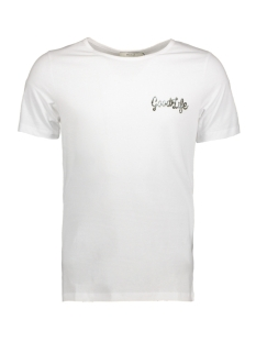 Jack & Jones T-shirt JPRMARK SS TEE CREW NECK 12136317 White