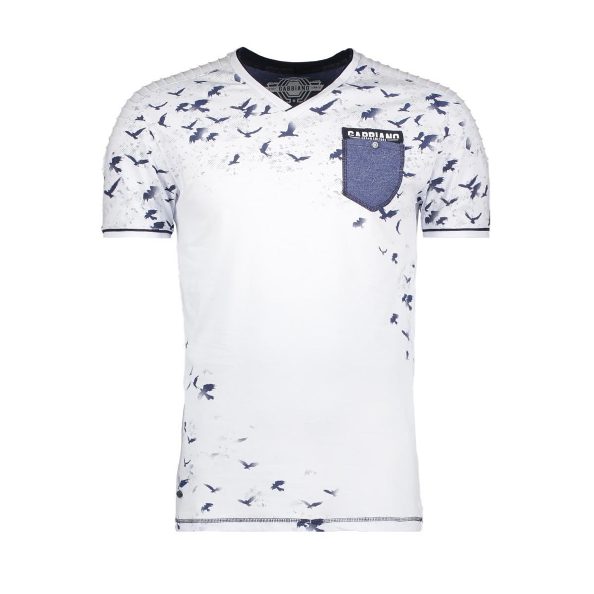13876 gabbiano t-shirt white
