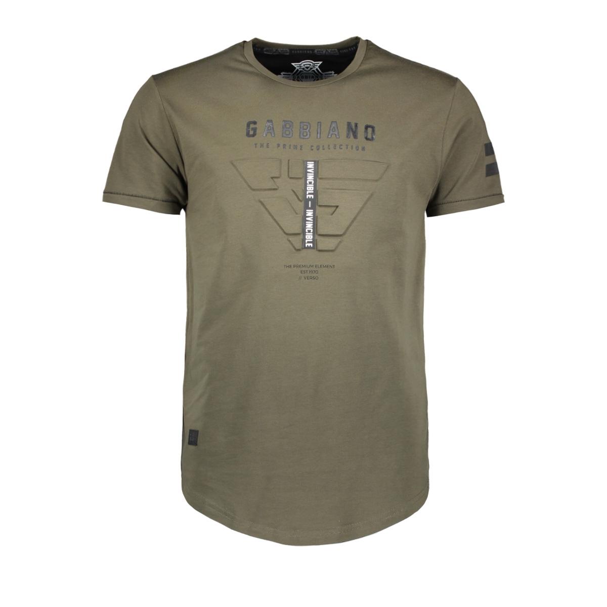 13859 gabbiano t-shirt army