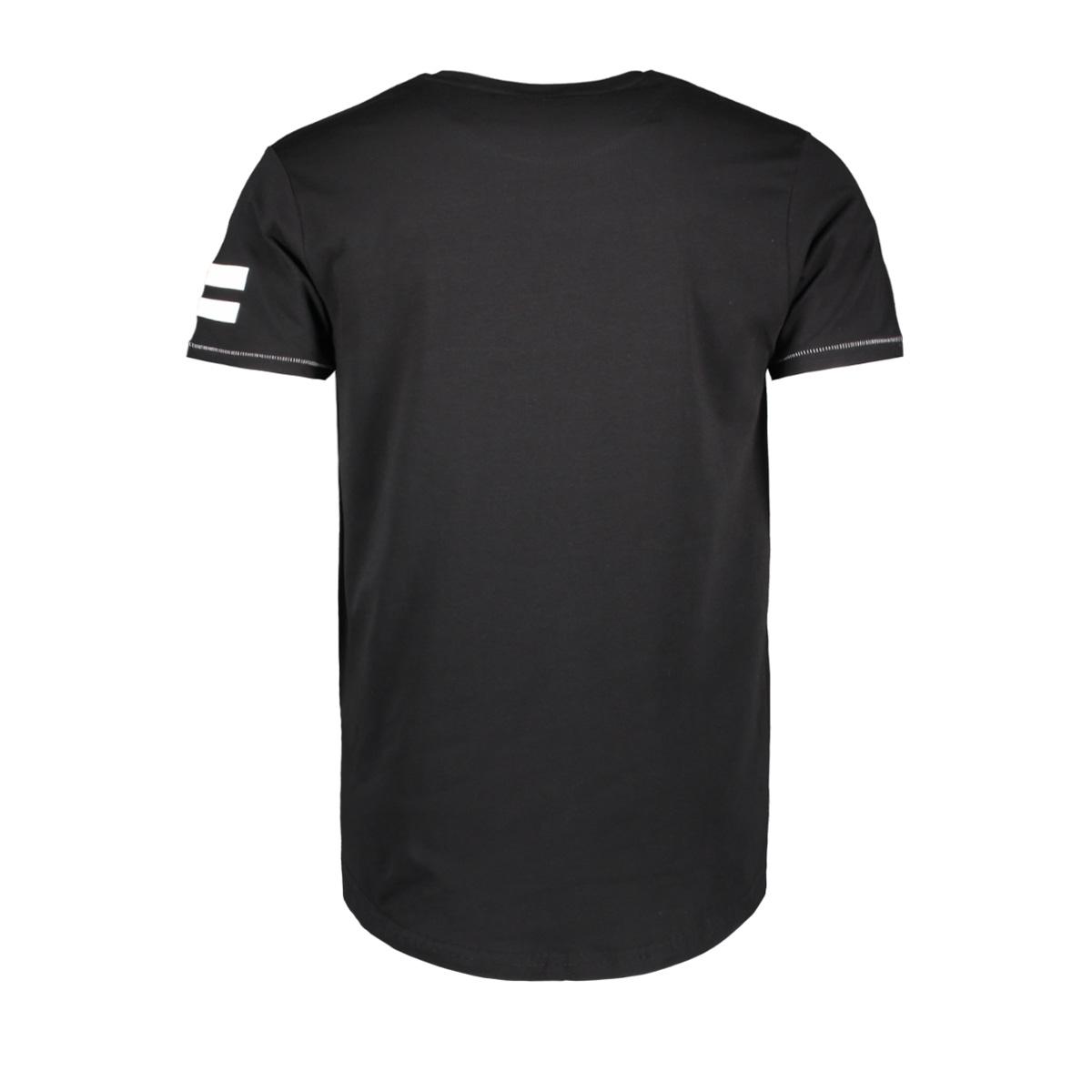13859 gabbiano t-shirt black