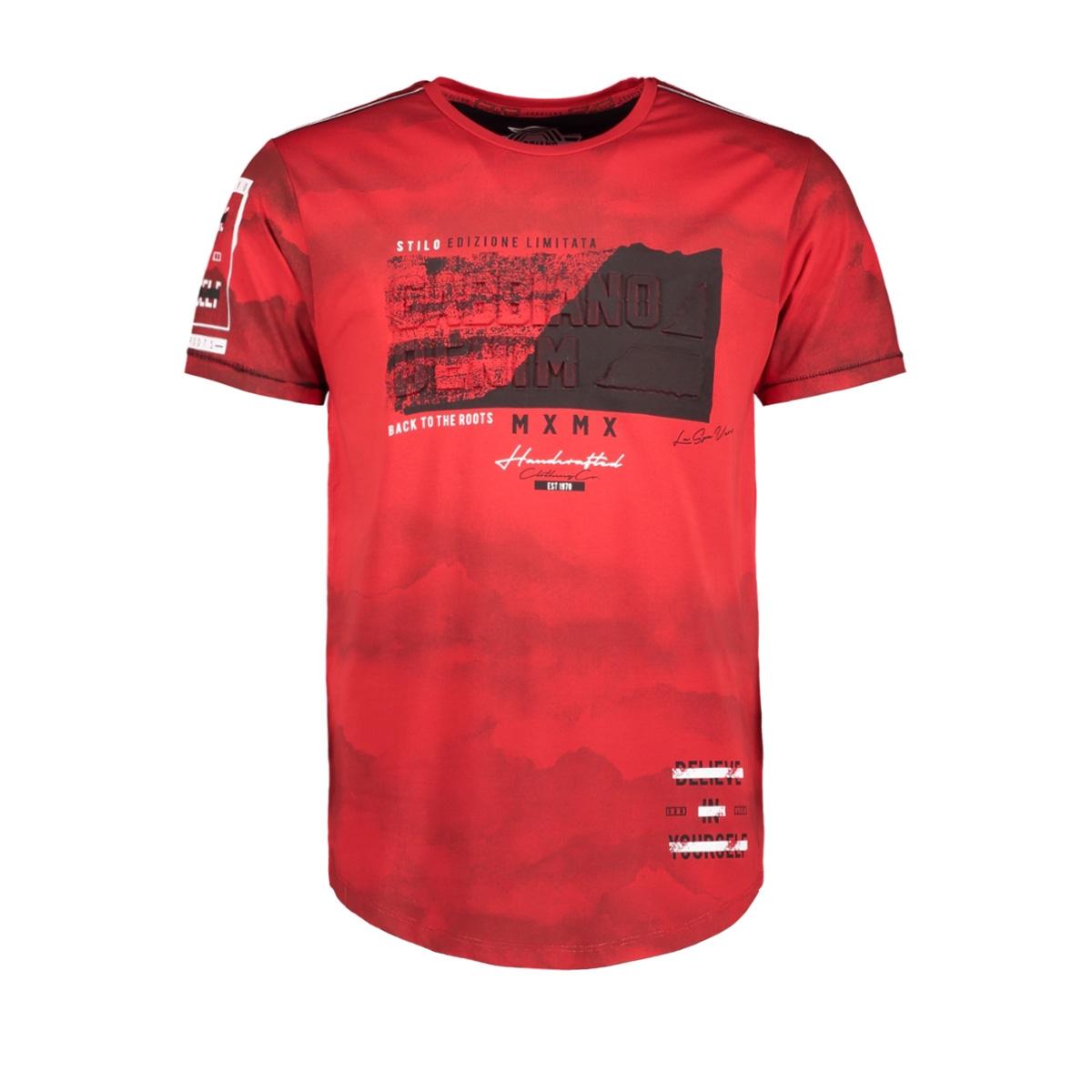 13866 gabbiano t-shirt red