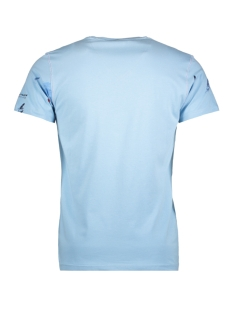 13877 gabbiano t-shirt light blue