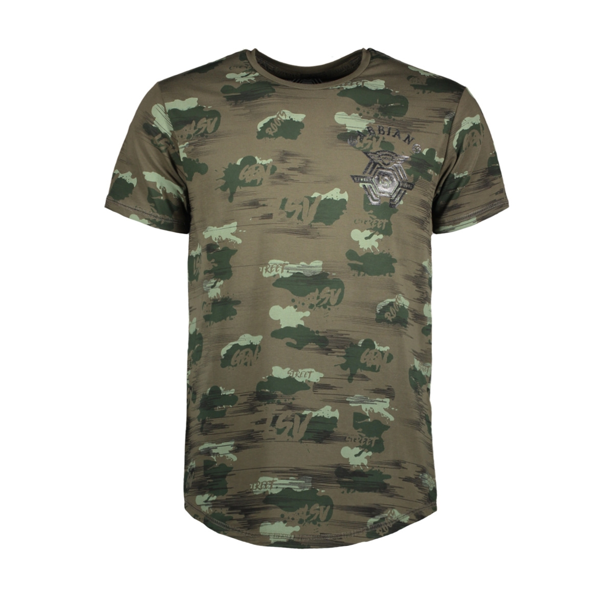13862 gabbiano t-shirt army