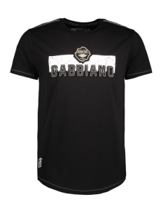 13865 gabbiano t-shirt black