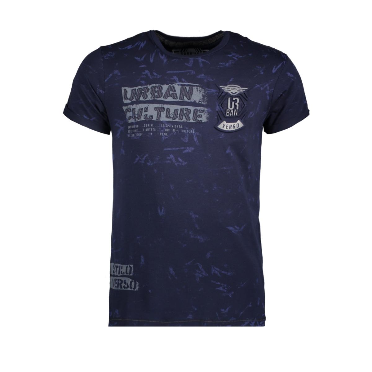 13885 gabbiano t-shirt navy