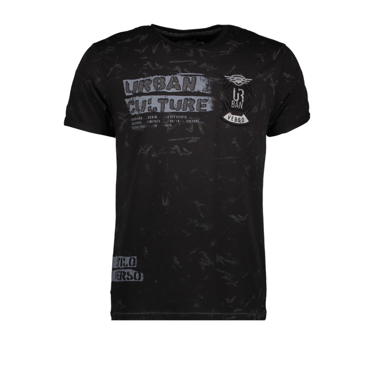 13885 gabbiano t-shirt black