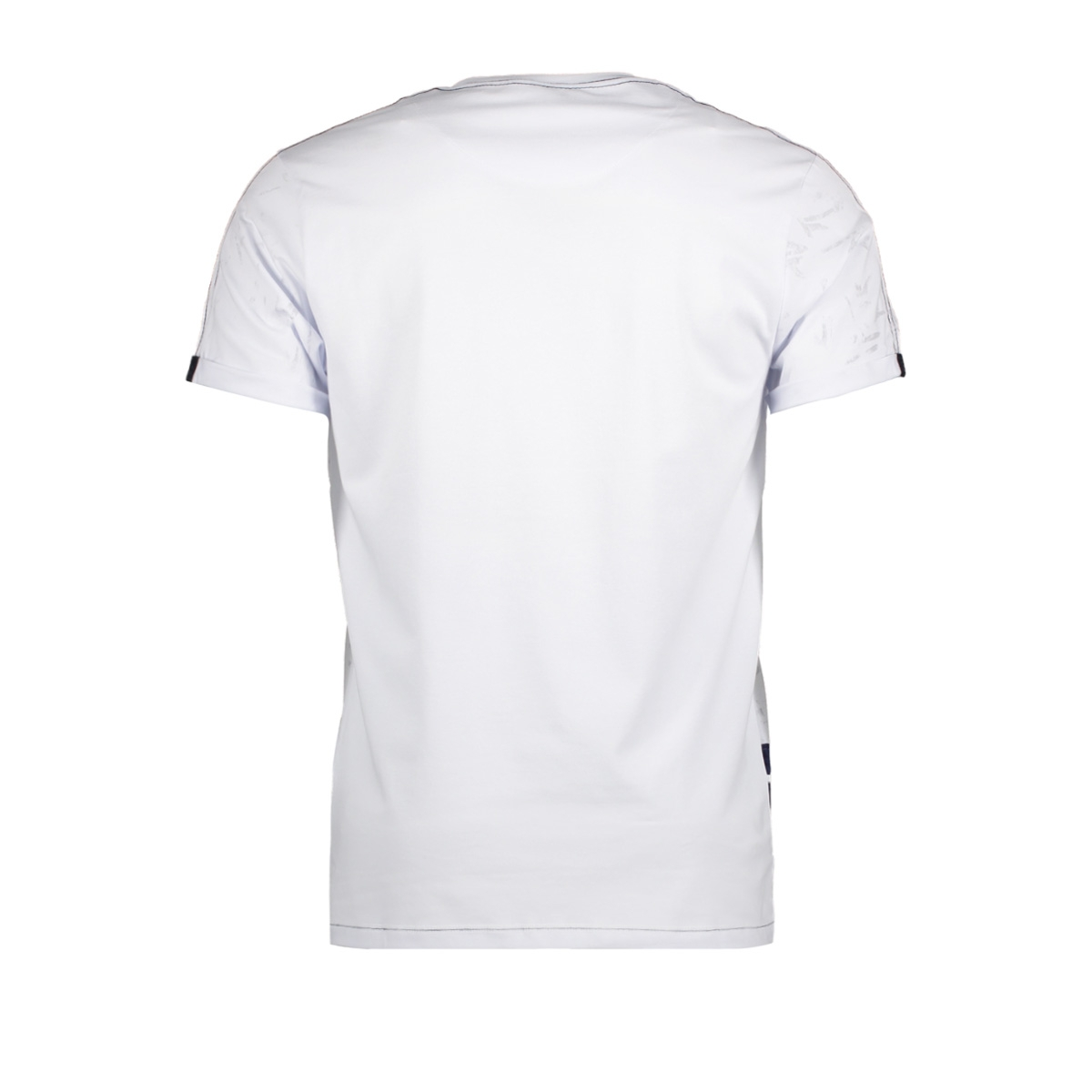 13885 gabbiano t-shirt white
