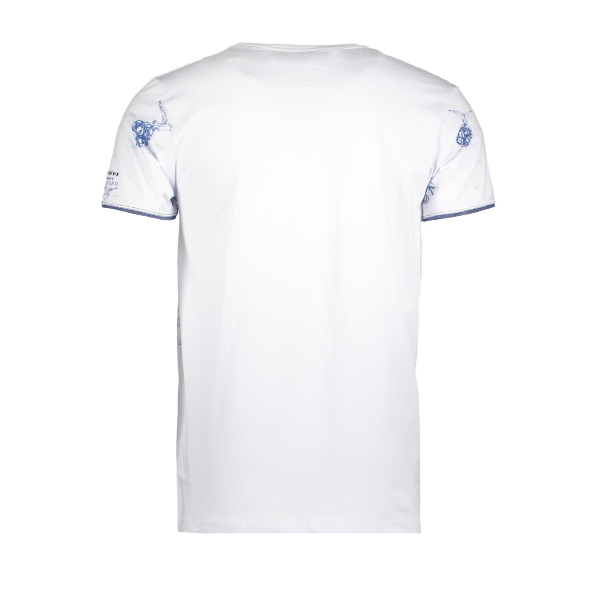 13886 gabbiano t-shirt white