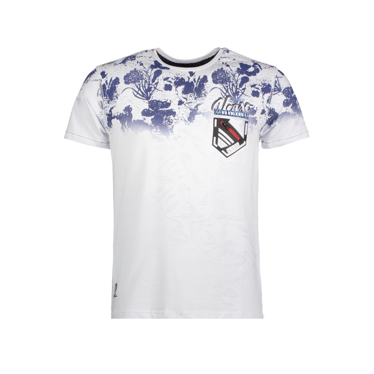 13895 gabbiano t-shirt white
