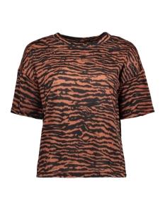 Saint Tropez T-shirt T2500 ZEBRA SS 6241 C.BROWN