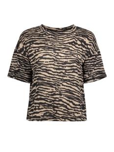 Saint Tropez T-shirt T2500 ZEBRA SS 0001 BLACK
