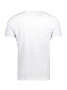 jcotone tee ss crew neck 12138420 jack & jones t-shirt white/slim