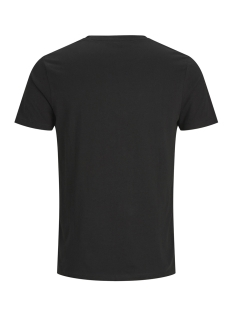 jcotone tee ss crew neck 12138420 jack & jones t-shirt black/slim