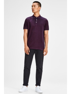 jjepaulos polo ss noos 12136668 jack & jones polo port royale/slim fit