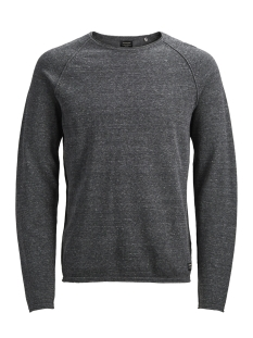Jack & Jones Trui JJEUNION KNIT CREW NECK NOOS 12137172 Dark Grey/Melange