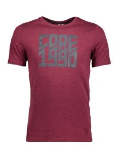 Jack & Jones T-shirt JCOLEON TEE SS CREWNECK 12123092 Zinfandel