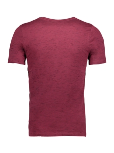 jcoleon tee ss crewneck 12123092 jack & jones t-shirt zinfandel