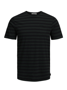 Jack & Jones T-shirt JPRDUSTIN TEE SS CREW NECK 12141245 Scarab