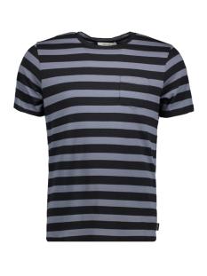 jprdustin tee ss crew neck 12141245 jack & jones t-shirt grisaille