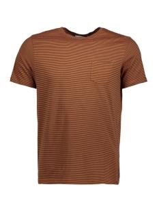 jprdustin tee ss crew neck 12141245 jack & jones t-shirt autumnal