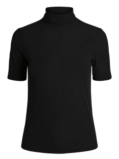 Pieces T-shirt PCFIG SS ROLL NECK TOP 17090255 Black