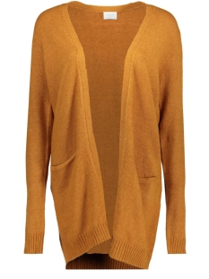Vila Vest VIRIL L/S  OPEN KNIT CARDIGAN-FAV 14044095 Cathay Spice