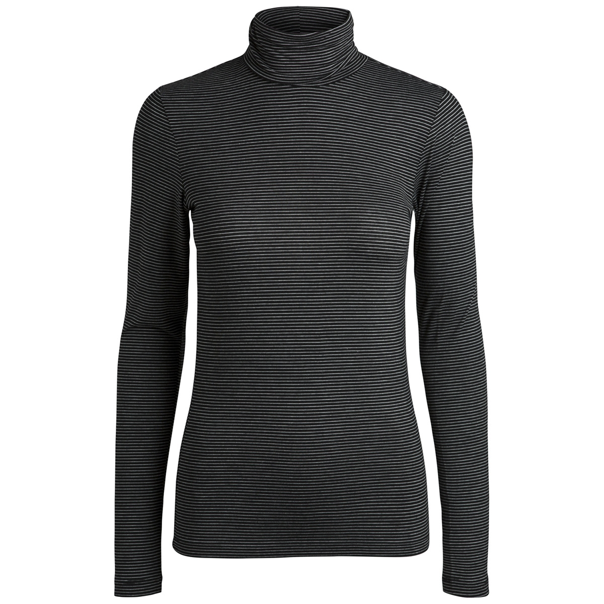 pcbillo ls rollneck top noos 17091564 pieces t-shirt black/bright whi