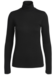 Pieces T-shirt PCBILLO LS ROLLNECK TOP NOOS 17091564 Black