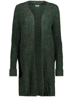 Noisy may Vest NMSUZU L/S CABLE KNIT CARDIGAN 4B 27002454 Pine Grove/MELANGE