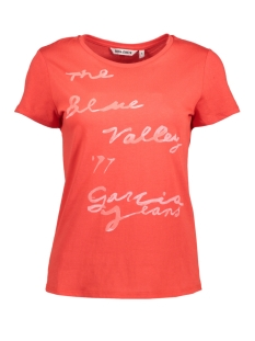Garcia T-shirt T80202 2648 Tomato Red