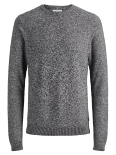 Jack & Jones Trui JJESTRUCTURE KNIT CREW NECK NOOS 12137171 Jet Stream/Twisted Wi