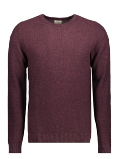 Jack & Jones Trui JJESTRUCTURE KNIT CREW NECK NOOS 12137171 Port Royale/twisted