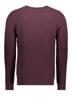 jjestructure knit crew neck noos 12137171 jack & jones trui port royale/twisted