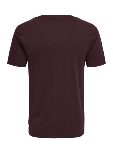 onsfalkner ss tee 22010927 only & sons t-shirt fudge