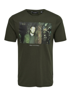 Only & Sons T-shirt onsFALKNER SS TEE 22010927 Forest Night