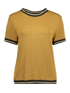 Luba T-shirt EMILLY GLITTER TOP ROEST