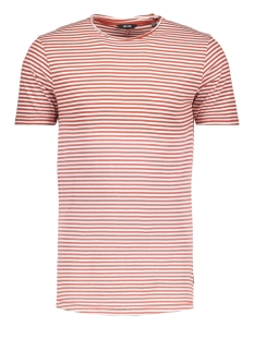 Only & Sons T-shirt onsHANSON BLEACHED STRIPED TEE 22011588 Cloud Dancer/BOSSA NOVA