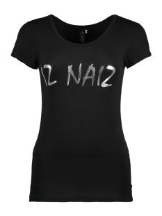 IZ NAIZ T-shirt 3369 SHIRT BLACK
