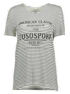 Zoso T-shirt JILL T-SHIRT OFFWHITE/BLACK