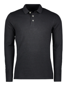 Jack & Jones Polo JPRPAULOS POLO LS 12127620 Dark Grey Melange/w. black