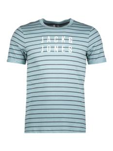 Jack & Jones T-shirt JCOFRESH TEE SS CREW 12137030 Tourmaline/SLIM