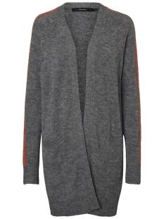 Vero Moda Vest VMJUTA GINGER OPEN CARDIGAN ACC 10201525 Medium Grey/W. KETCHUP