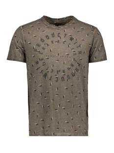 Garcia T-shirt U81007 3459 Taupe