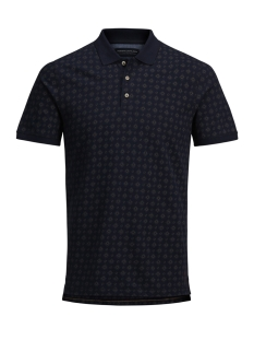 Jack & Jones Polo JPRSYDNEY SS POLO 12141658 Navy Blazer/SLIM FIT