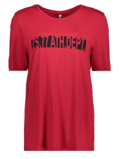 Zoso T-shirt DENISE SHIRT RED/BLACK