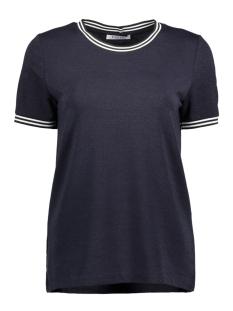 Pieces T-shirt PCSARAH SS TEE D2D 17095709 Night Sky