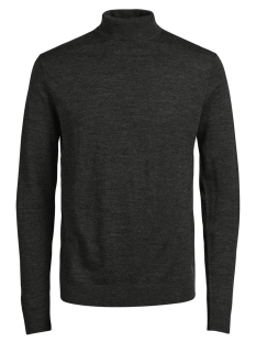 Jack & Jones Trui JPRMARK KNIT ROLL NECK 12113489 Dark Grey Melange