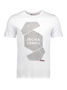 Jack & Jones T-shirt JCOBOOSTER TEE SS CREW NECK SEPTEMBER 12151961 White/SLIM